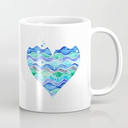 A Sea of Love (white) Coffee Mug