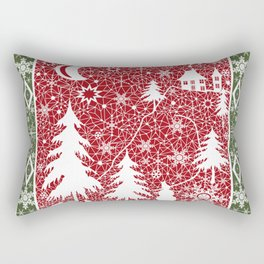 Winter. Christmas. Rectangular Pillow