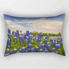 Bluebonnet Texas Rectangular Pillow