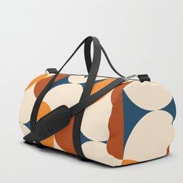 60s Beans Pattern Duffle Bag