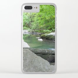 The Summation of Peace Clear iPhone Case