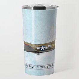 Boeing B-17 Flying Fortress - WW2 Travel Mug