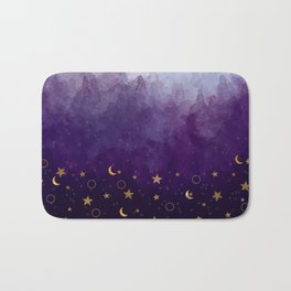 A Sea of Stars Bath Mat
