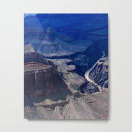Colorado River Grand Canyon Inspirational Scenic Landscape Metal Print