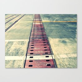 Airplane Hangar Floor 1 Canvas Print