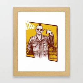 Taxi! Framed Art Print