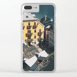 Hallstatt V Clear iPhone Case