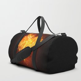 Burning Heart Duffle Bag