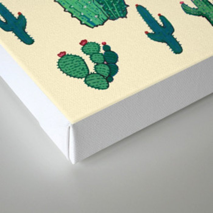 Cactus !! green Canvas Print