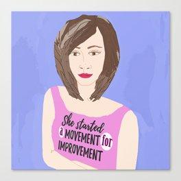 Movement for Improvement Canvas Print