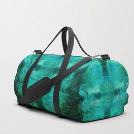 """""""Abstract aquamarine, deep waves"""" Duffle Bag"""