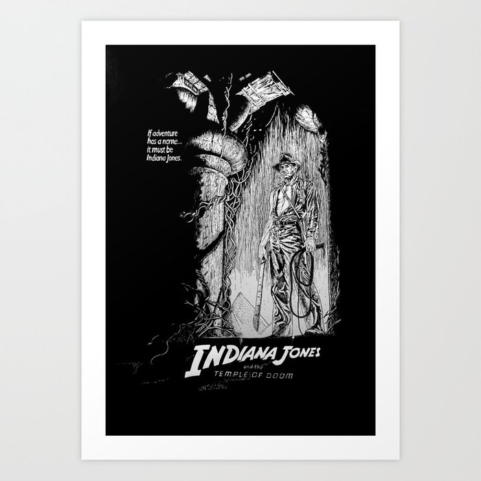 Indiana Jones and the Temple of Doom Art Print