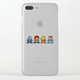 8-bit ThunderCats Clear iPhone Case