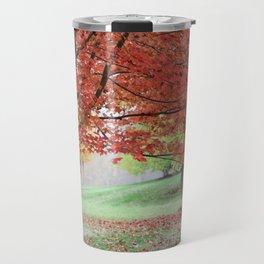 Autumn Leaf Color|Vermont|New England Travel Mug