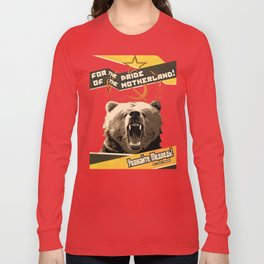 Respect The Bear Long Sleeve T-shirt