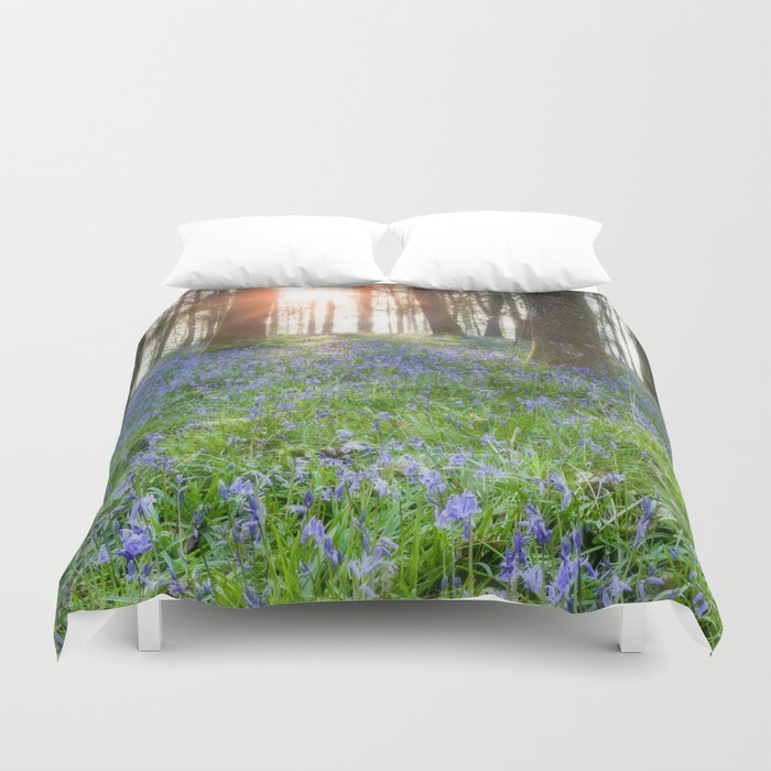 Bluebell Sunrise Duvet Cover
