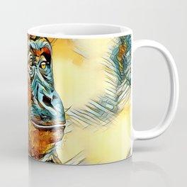 AnimalArt_Gorilla_20170604_by_JAMColorsSpecial Coffee Mug