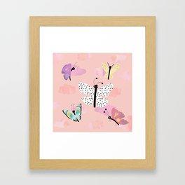 Butterfly Close Up. Framed Art Print