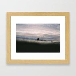 Ocean Surf III Framed Art Print