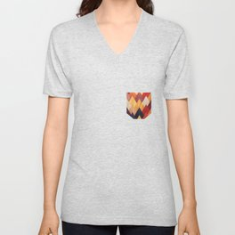 Eccentric Mountains Unisex V-Neck