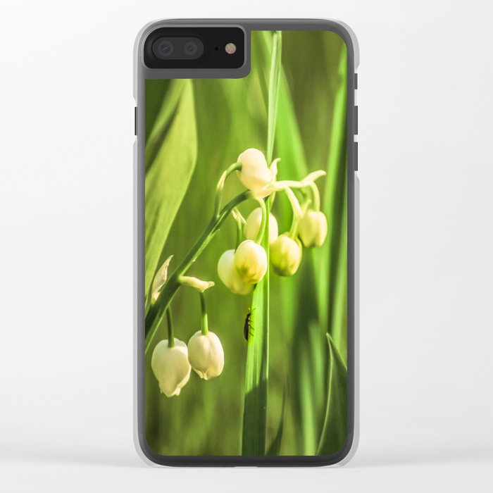Craving to a beauty Clear iPhone Case