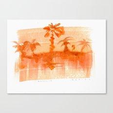 Plant and Desert Canvas Print
