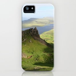 Green Hills Scotland - Travel Photo iPhone Case
