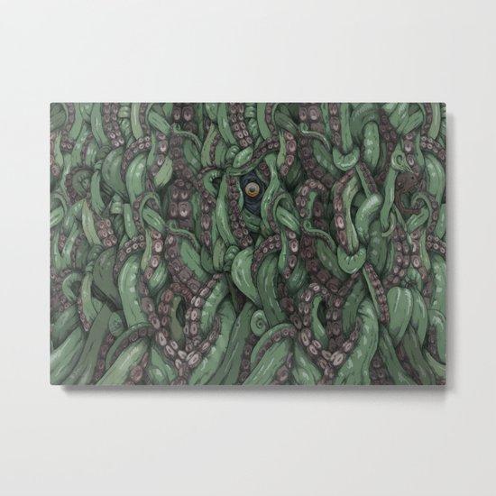 Tentacle Wall Metal Print