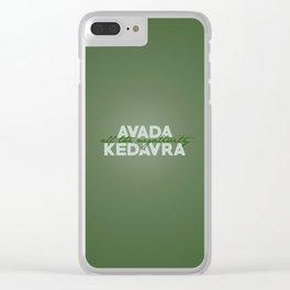 Avada The Negativity Clear iPhone Case