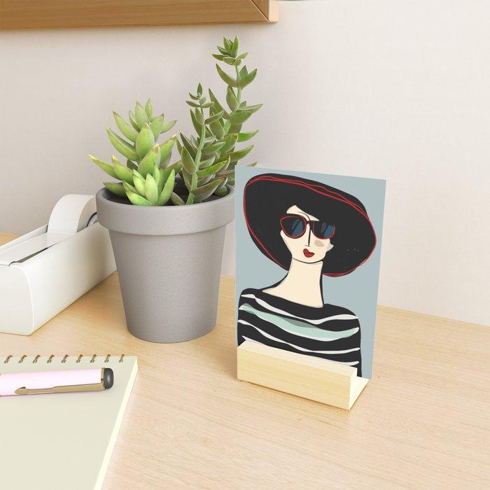 Mademoiselle Mini Art Print