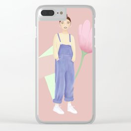 SPRING STYLE Clear iPhone Case