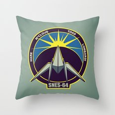The Lylat Space Academy Throw Pillow
