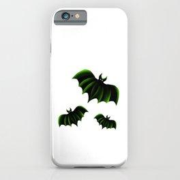 Green Bats iPhone Case