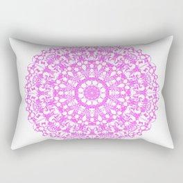 Mandala 12 / 3 eden spirit pink Rectangular Pillow