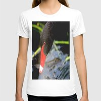 black swan T-shirts featuring Black Swan by Chris' Landscape Images & Designs