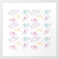 I'm Wearing Shoes Art Print