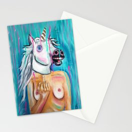 Because I'm a unicorn, that's why Stationery Cards