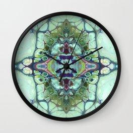 mirror times 4 Wall Clock