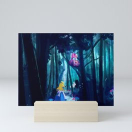 Alice in Wonderland Mini Art Print