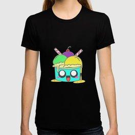 Kids children animals monster candy happy gift T-shirt