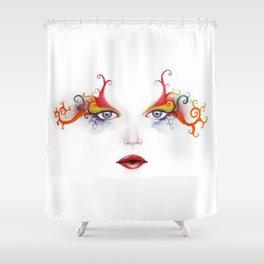 Mardigras Shower Curtains