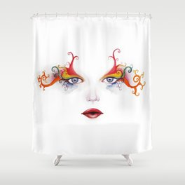 Mardigras Shower Curtain