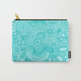 millions aqua Carry-All Pouch