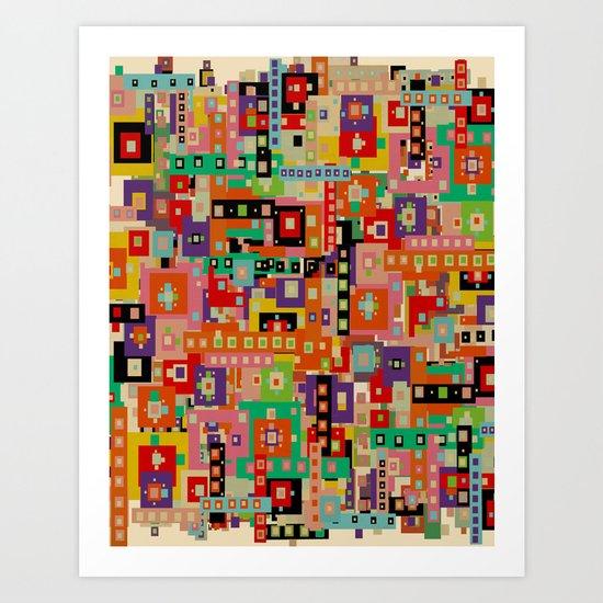 wonderlust Art Print