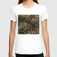 david fleck T-shirts featuring Fleck Tarn Camoflauge  by Derek Boman