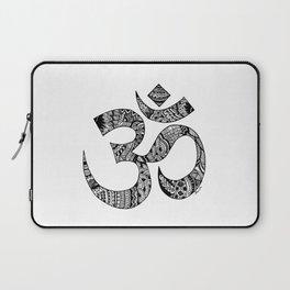 Om Zentangle Art Laptop Sleeve