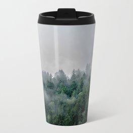 Foggy Woods 3 Metal Travel Mug