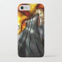 mandie manzano iPhone & iPod Cases featuring Expecto Patronum by Mandie Manzano