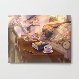 Alchemy and Breakfast Metal Print