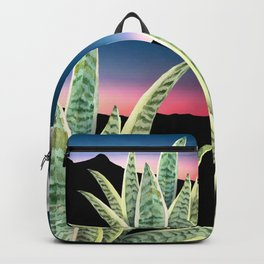 sansevieria watercolor Backpack